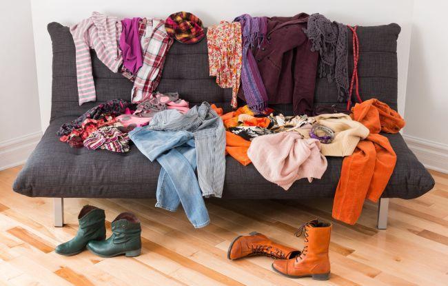 Что нужно выкинуть из гардероба?