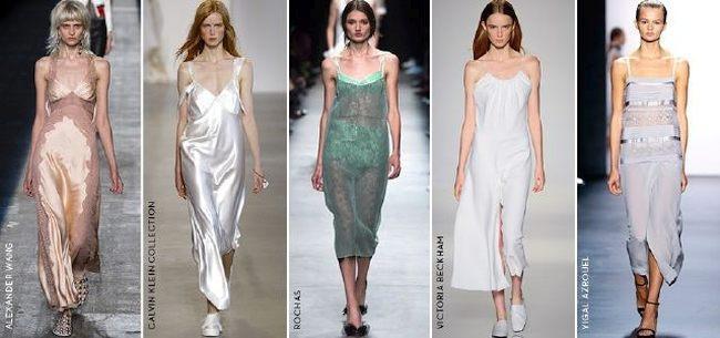 Платье-ночнушка как модный тренд