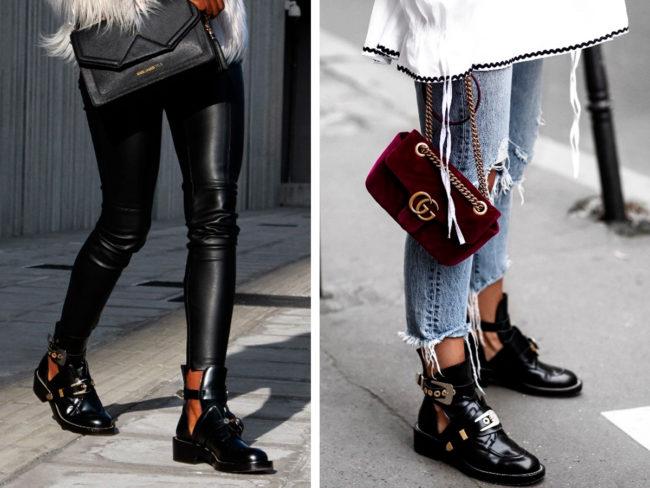 Модные ботинки на осень