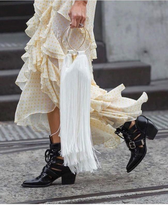 красивые шифоновые платья