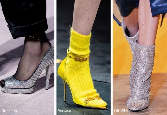 обувь с носком
