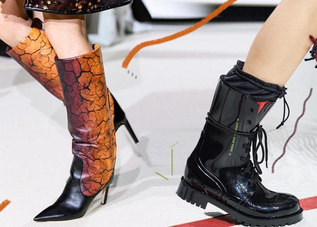 Модная обувь осени и зимы