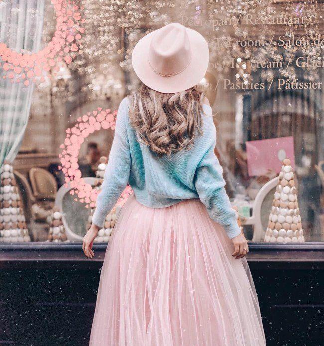 Красивые шифоновые юбки