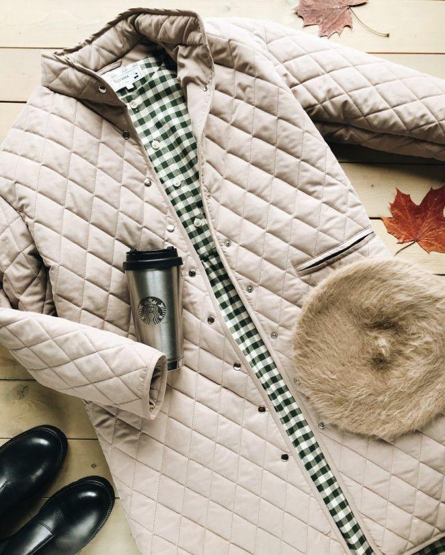 Лёгкий пуховик на осень