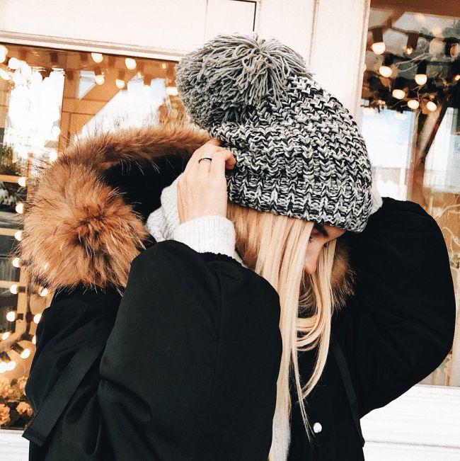 шапка под пухоыик