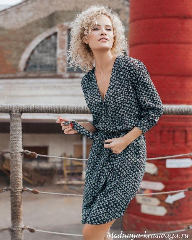 Модные повседневные платья весна-лето 2018