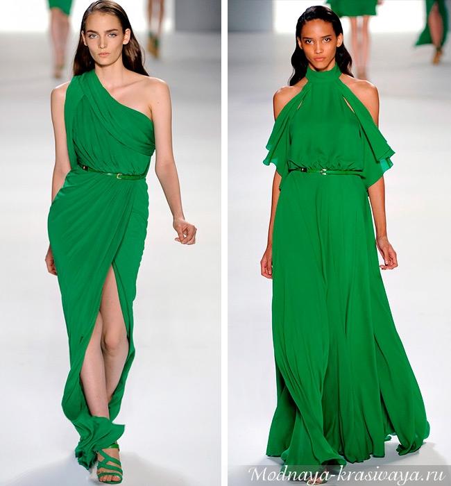 Оттенок зеленого