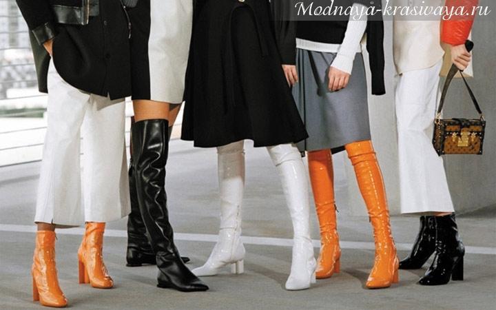 Модная обувь осень-зима 2018-2019, фото-новинки