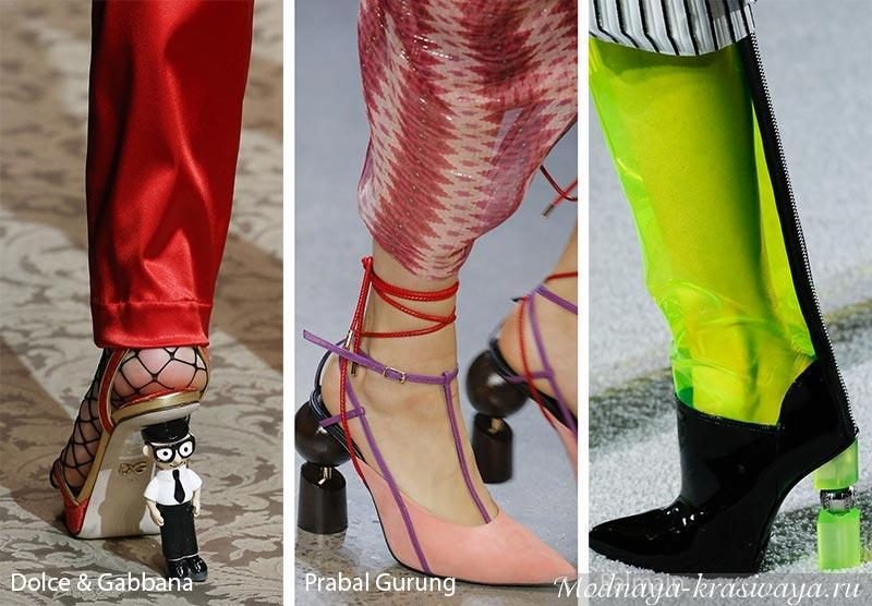 Дизайнерские новинки обуви