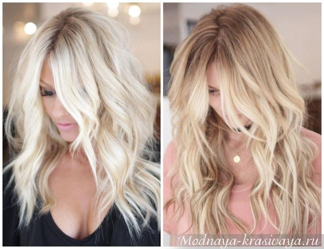 Для светлых волос