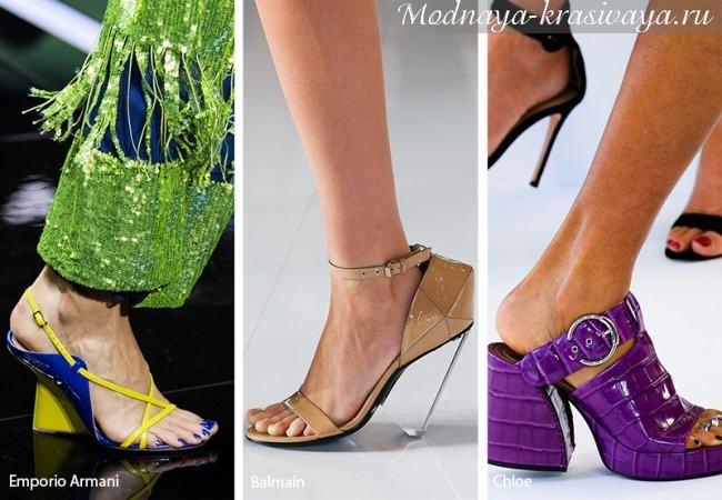 Необычная дизайнерская обувь