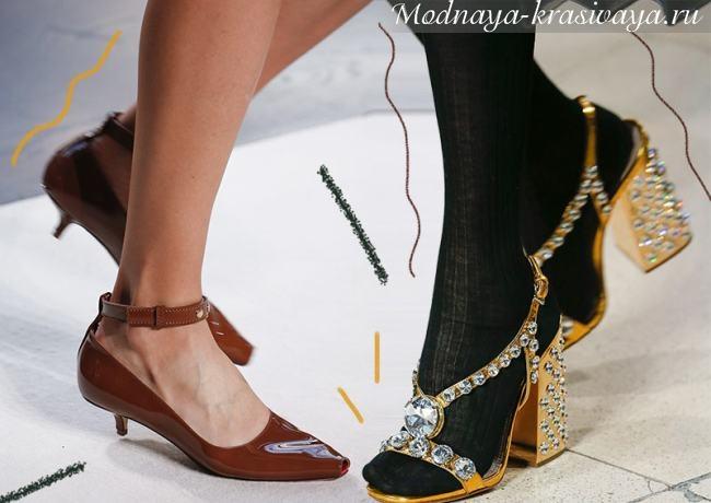 Модная обувь весна-лето 2022