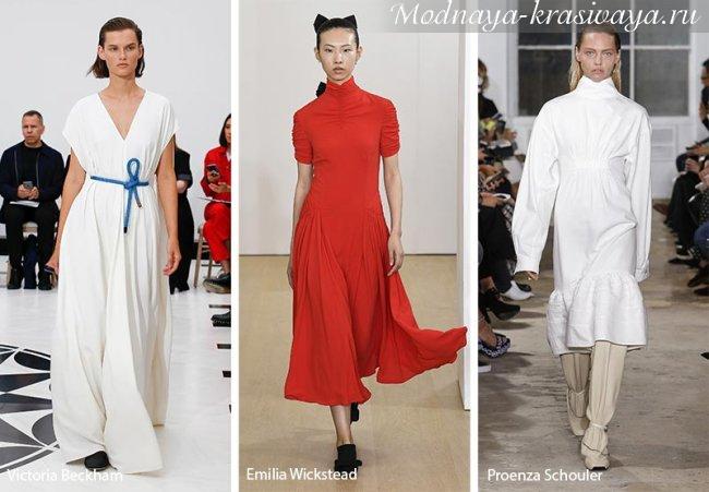 Тенденции моды на весну