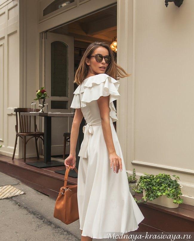 Повседневное платье весна-лето 2019