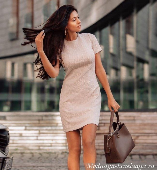 Строгое платье 2019