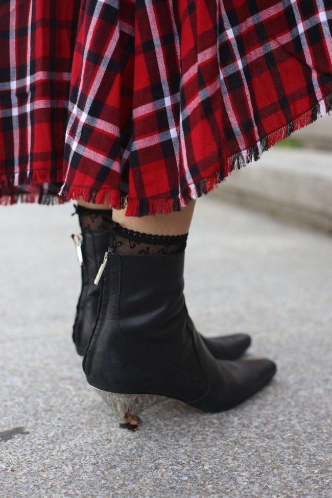 стильный каблук