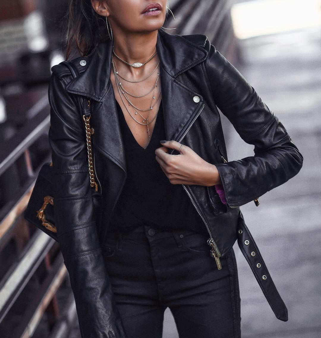 Правила выбора женской кожаной куртки