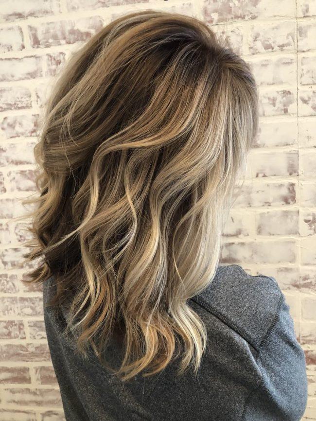 Бейбилайтс на русые волосы