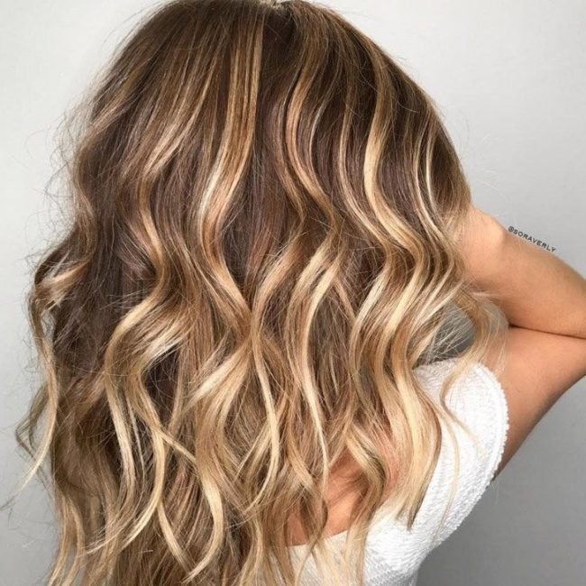 Техника окрашивания волос бейбилайтс
