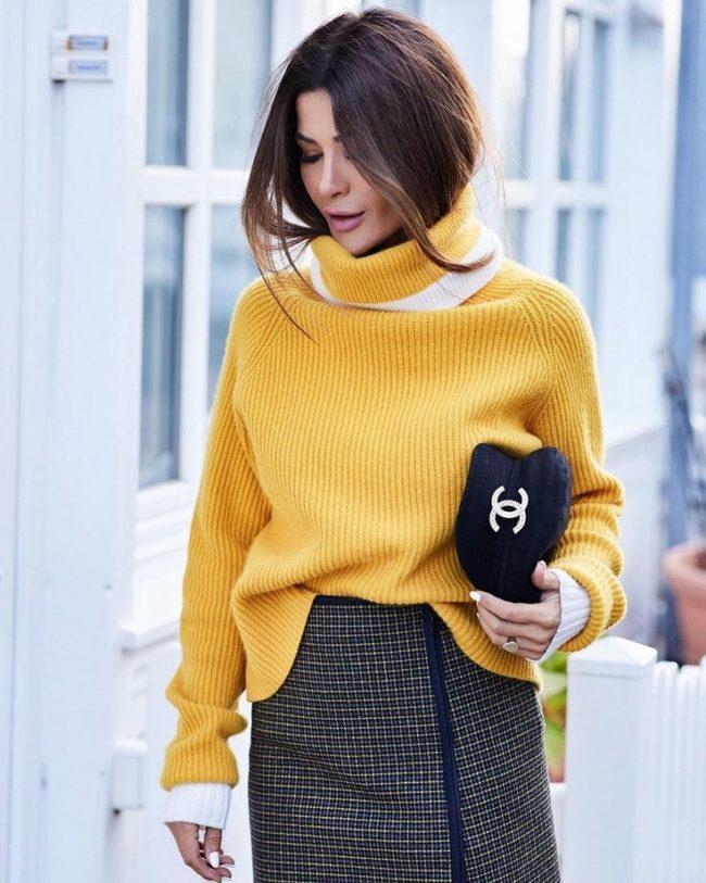 модели свитеров на осень-зиму 2019-2020