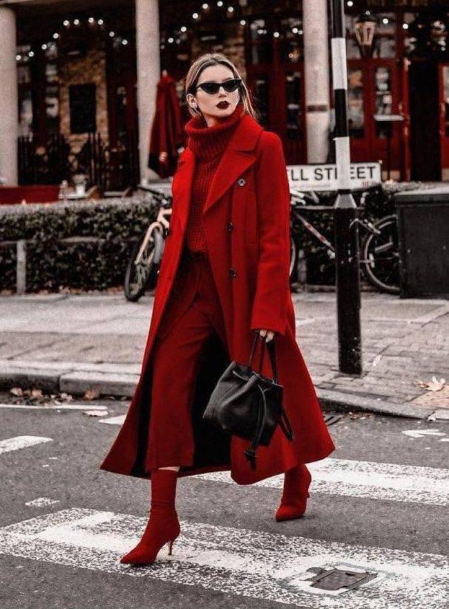 что носить весной (красный)