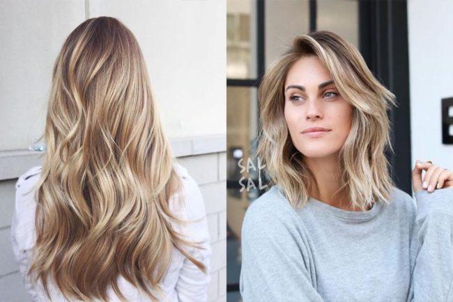 Модные техники окрашивания волос на средние волосы