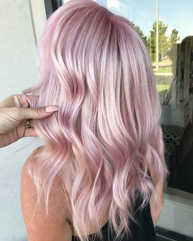 красивый цвет влос