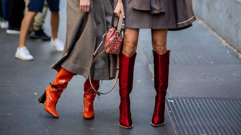 Модная обувь осень-зима 2021-2022, фото-новинки