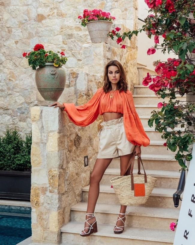 Модные луки весна-лето 2021