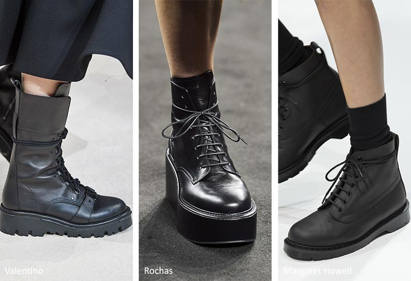 модные ботинки осень-зима 2020-2021