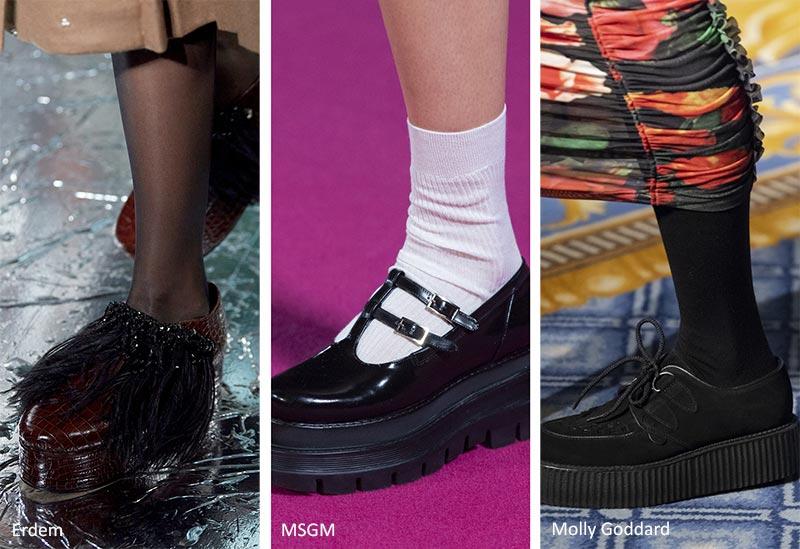 Fall/ Winter 2022-2023 Shoe Trends: Flatforms