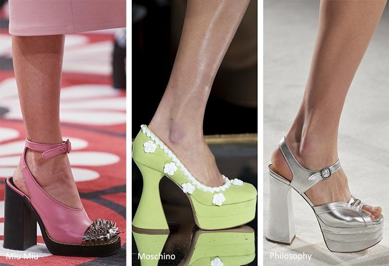 Fall/ Winter 2022-2023 Shoe Trends: Platform Heels