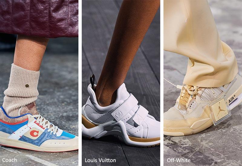 Fall/ Winter 2020-2021 Shoe Trends: Sneakers