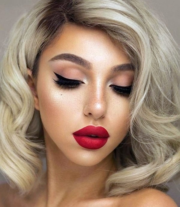 Новогодний макияж 2021