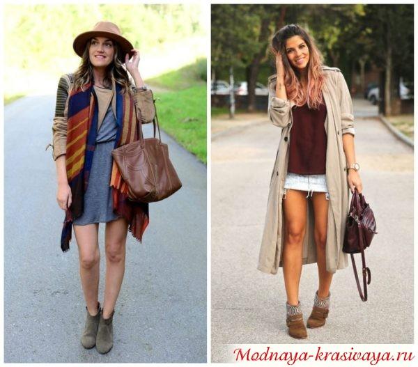 Верзняя одежда в стиле бохо