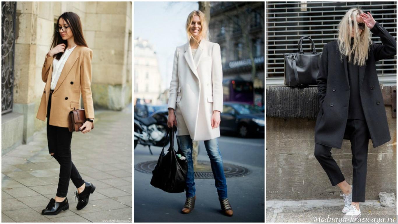 Как носить пальто-пиджак?