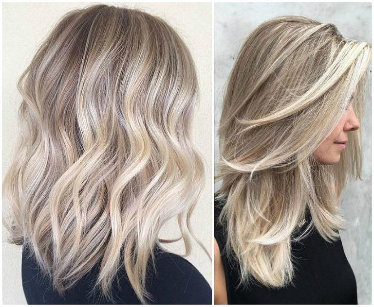 Как сделать балаяж на седые волосы