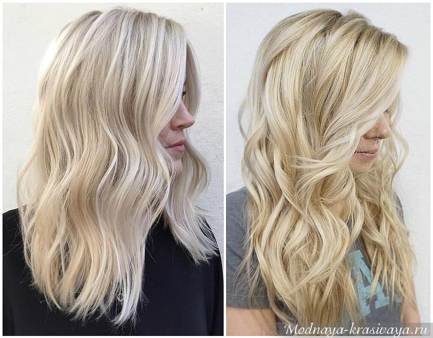 Легкие переливы блонда