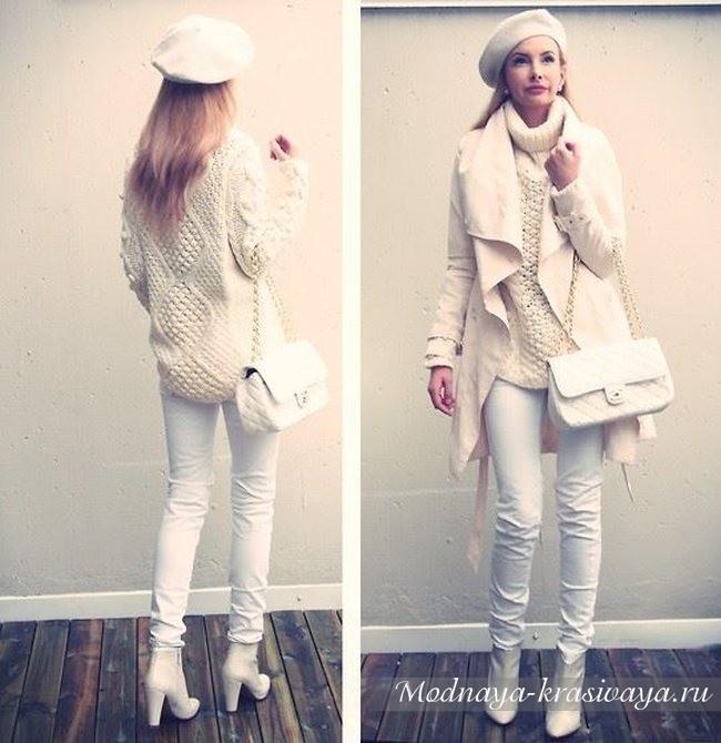 белого цвета