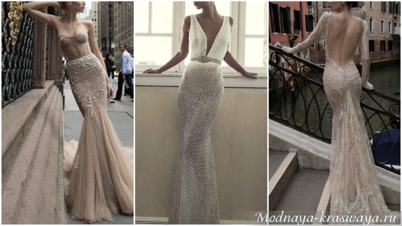 Оригинальные вечерние платья