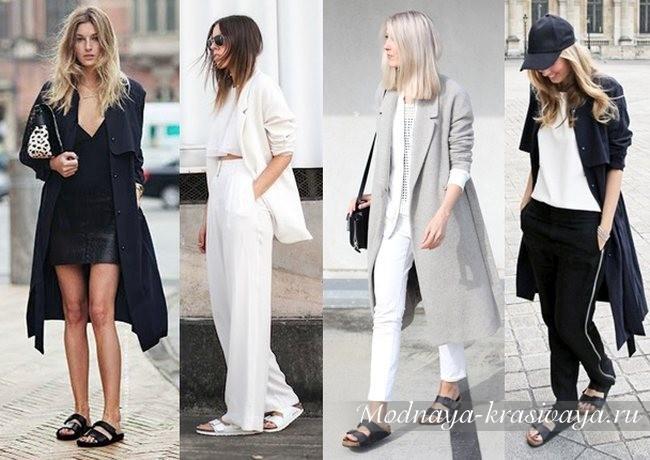 С чем носить биркенштоки девушкам?