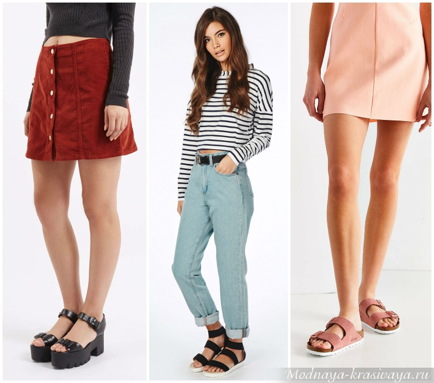 Разнообразие моделей обуви