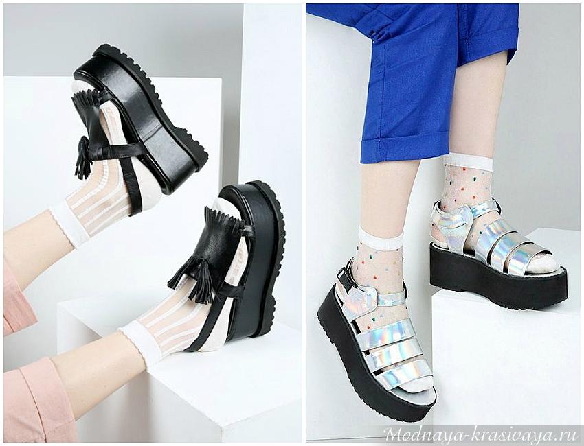 Модная обувь для весны и лета