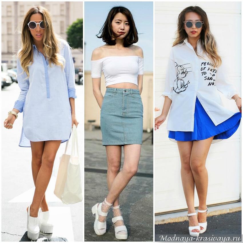 С платьями и юбками