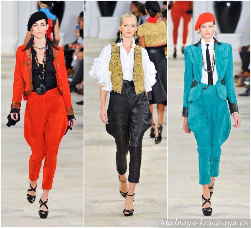 С чем носить брюки галифе?