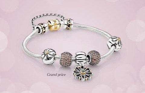 Серебрянный браслет Пандора