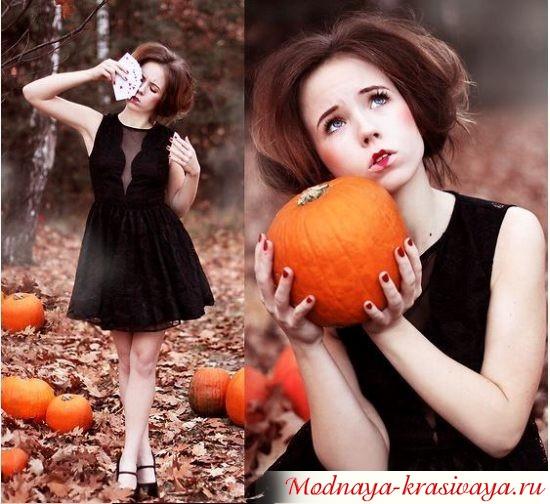 платье на Хэллоуин, фото