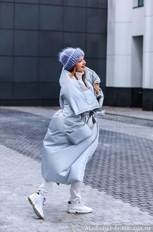 Пуховик-одеяло: как носить и выглядеть стильно, 60 фото-образов