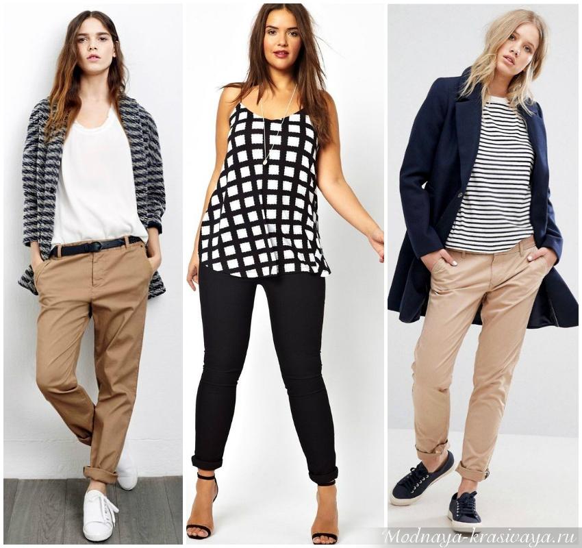 Чиносы - альтернатива джинсам