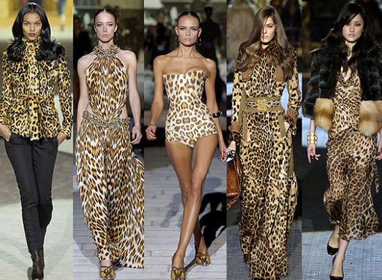 Модели леопардовых платьев 2014